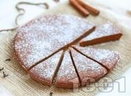 Лесен здравословен сладкиш с тиква и кокосова захар